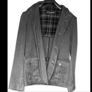 Dolce & Gabbana Men's Distressed Jacket